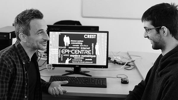 Epi-centre Crest Coworking Télétravail Numérique Internet Tiers-Lieux Médiation