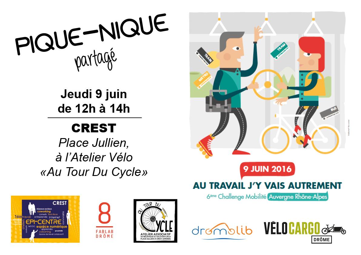 Challenge mobilit pique nique partag epi centre for Flyer espace vert