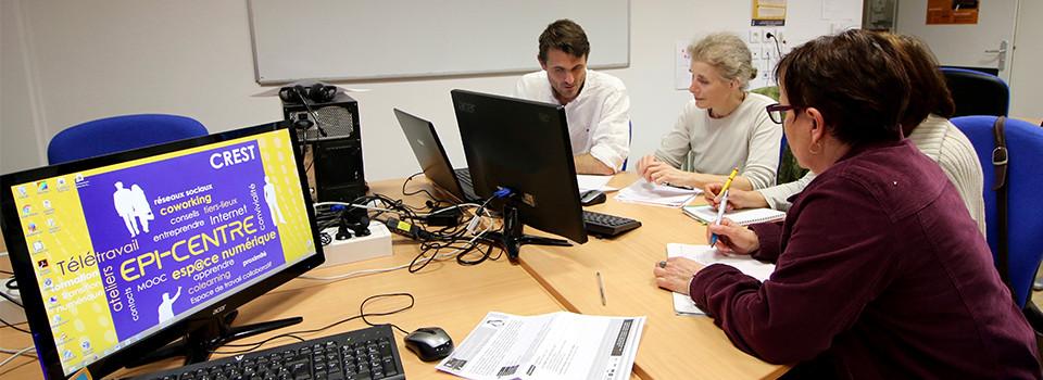 epicentre crest coworking télétravail médiation numérique tiers-lieu epi-centre formation