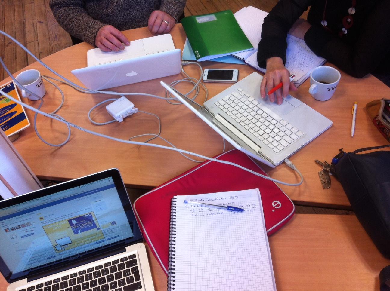 Epi-centre Crest Coworking Télétravail Médiation Numérique Internet Tiers-Lieux Travail collaboratif